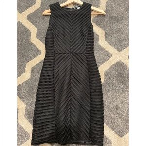 Black mini dress from H&M (used)